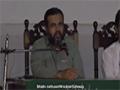 [Seminar : Yume Mustafa (S.A.W)] Speech : Br. Naqi Hashmi - Dawoood University - Urdu