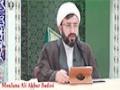 [04] Tafsir Surah Al-Noor - Moulana Ali Akbar Badiei - 21 Ramadan 1436 - English
