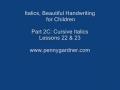Cursive Handwriting for Kids twoC - English