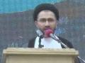 [AL-QUDS 2015] Karachi, Pakistan : Speech H.I Shahenshah Naqvi  - Urdu