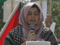 [Al-Quds 2015] Poem by Sister Romesa Khan at Toronto Al-Quds Day Rally - 2015 - English