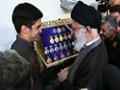 1394/5/4 المپیادیهایی که به دیدار رهبر انقلاب رفتند - Farsi