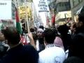 Intifada Palestine Gaza Protest in New York - 28Dec08 - English