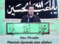 Hacı Mircəfər - Möminin Quranda olan sifətləri - Azeri