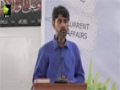 [Tulu e Fajr Taleemi Conference] Time Management - Br. Tathir Hussain - 11th Sept 2015 - Urdu