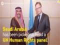Saudi Arabia to Head UN Human Rights Panel - English