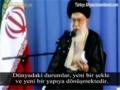 İmam Ali Hamaney Dünya\'nın yeni yapısını anlatıyor - Farsi Sub Turkish