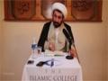 [Lecture 26/01] Islamic Theology - Sheikh Dr Shomali - 30/09/2015 - English
