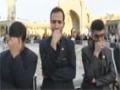 Flag changing ceremony of Sayyeda Fatima Masooma [sa] shrine in Qom Muharram - All Languages