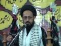 [07] Wilayat Ali (A.S) Aur Uske Taqaze - H.I Sadiq Taqvi - Muharram 1437-2015 - Urdu