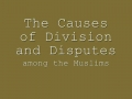 Causes of Division among Muslims ALLAMA FAZIL MOSAVI  - urdu