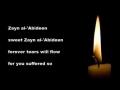 Sweet Zayn al-Abideen - Latmiya Marsiya - English