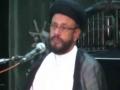 [02] Islamophobia - H.I Zaki Baqri - Muharram 1436 - Hussainia Iranian, Karachi - Urdu