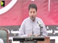 [یوم حسین ع] Br. Wajih Hassan - 29 Oct 2015 - Karachi University - Urdu