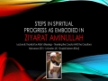 [08 Majlis] Steps in Spiritual Progress in the Light of Ziyarat Aminullah - Sh Saleem Bhimji - 12 Muharram1437 - English