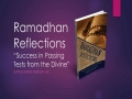 [Supplication For Day 23] Ramadhan Reflections - Success in Passing Tests from the Divine - Sh. Saleem Bhimji - English