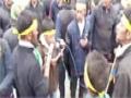 Noha 2015 recited by Sajjad Ali during Ashura Procession 2015 - Urdu