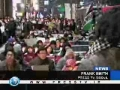 South Koreans hold candle-lit vigil in front of Israeli embassy - 6Jan08 - English