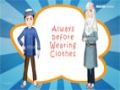 Abdul Bari Muslims Islamic Cartoon for children - Abdul Bari Change this clothe shirt - Urdu