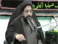 [08] Azadari Nehzat-e-Zainabi - Agha Taqi Raza Abidi - Safar-1437/2015 - Urdu