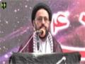 [یوم حسین ع] Speech : Maulana Sadiq Taqvi - 08 December 2015 - Jinnah Medical University - Urdu