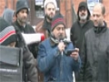 Zafar Abbas Zafar at Ottawa protest rally in-front of Nigerian High Commission - Urdu