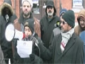 Ottawa protest in-front of Nigerian High Commission Against killings of Shia Muslims in Nigeria -English
