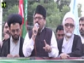 [Himayat e Mazlomeen Rally] Speech : Nisar Qalandari - Numaesh to Press club Karachi - 19-12-2015 - Urdu