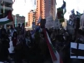 5th Calgary Protest-Anti War Activist Sister Collette Lemieux at Rally - English