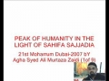 1-Peak of Humanity in the light of Sahifa-e-Sajadia - Urdu