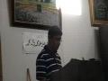 Hazrat John (a.s) Speech by Shoaib - English