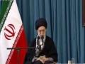 حضور و سخنرانی رهبر انقلاب در حرم مطهر رضوی - Farsi