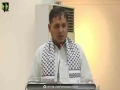 [Mehfil-E-Mushaira] Topic : فلسطین فلسطینیوں کا وطن | Speech - Janab Sabir Karbalai - Urdu