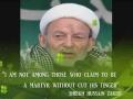 Shaikh M Hussain Zakiri Top Shia Cleric of Kargil J&K India - Farsi