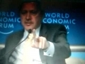 Turkish Prime Minister clashed with Israeil President - English