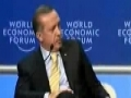Turkish PM talks about Gaza at the World Economic Forum storms off stage - English