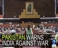 [28th September 2016] Pakistan parliament warns India against war | Press TV English