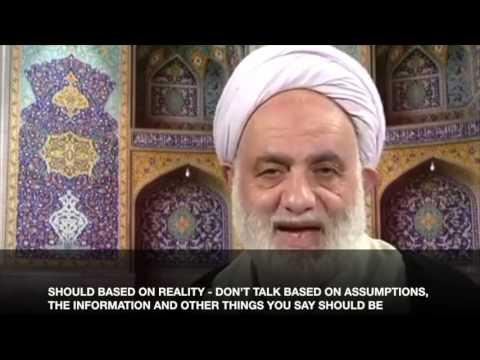 Tafseer al-Noor: al-Hujurat 49:03 - Qara\'ati (English Subtitles)