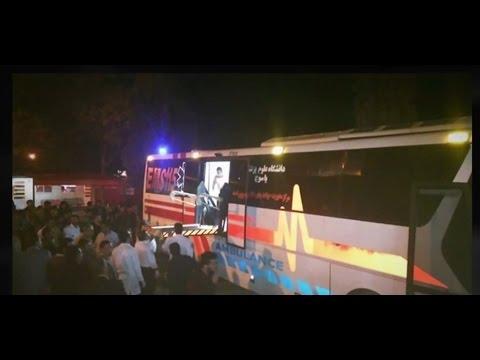 [09 November 2016] 28 Iranians die in bus accident in Fars province | Press TV English