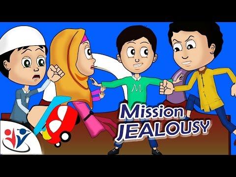 Abdul Bari Muslims Islamic Cartoon for children - Abdullah on Mission Jealousy- English