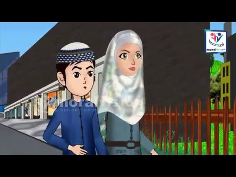 Abdul Bari Muslims Islamic Cartoon for children -Abdul Bari be quiet when its adhan time- English
