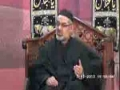 3rd Majlis Moharram 1435 Hijari 2013 By Moulana Ali Murtaza Zaidi Imam Bargah Jamia Al-Sadiq as G-9/2 Islamabad - Urdu