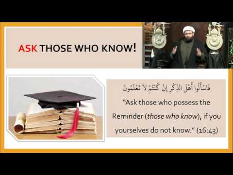 Topic : Martyrdom of Imam Al-Askari a.s Knowledge & Practice By Shaykh Saleem Bhimji - English