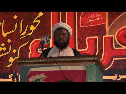 Karbala May Murd aur Aurat ke kirdar ka taqabal- Molana Baqir Najafi - Sindhi