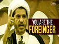 You are the Foreigner | Bahraini Revolutionary Song | Arabic sub English