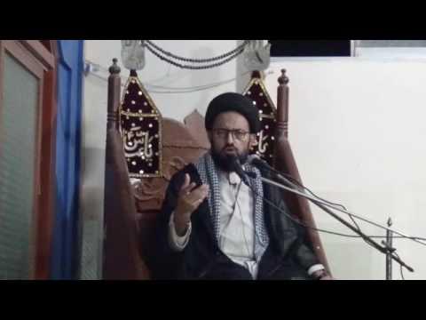 Majlis 01 - Shahadat Imam Ali (as) 1438] Topic: Wilayat k Taqazay