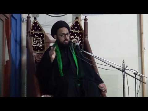 [Majlis 03 - Shahadat Imam Ali (as) 1438] Topic: Wilayat k Taqazay   H.I Sadiq Raza Taqvi - Urdu