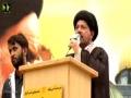 [Markazi Youm Al-QUDS Rally 2017]  Speech: Molana Baqir Zaidi   Karachi - Urdu
