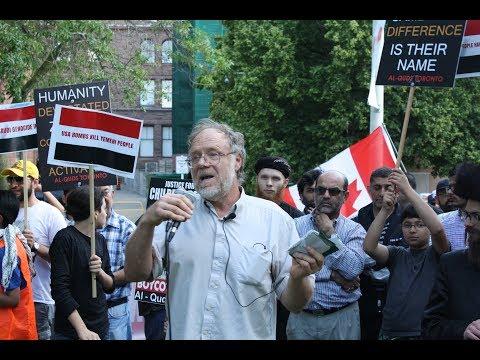 Dr Kevin Barrett at Toronto Al-Quds Day Rally 2017