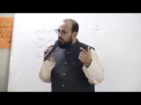 [ Lecture - 07 ] Topic: Imam kay liey 8 Groups | H.I Syed Sadiq Raza Taqvi - Urdu